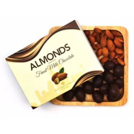 C'APPLE Milk Chocolate Almond (70g)