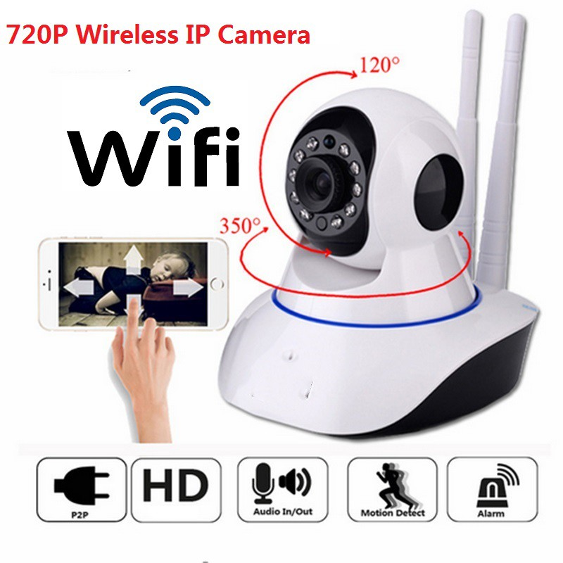 IP Camera Wireless Wifi Night Visioon Home Surveillance Monitor Phone  Control