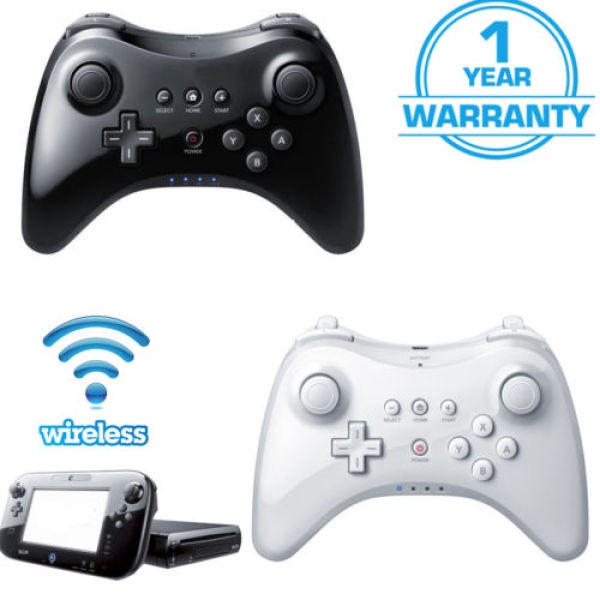 Wireless Classic Professional Controller Joystick Gamepad for Nintendo wii  U Pro with USB Cable