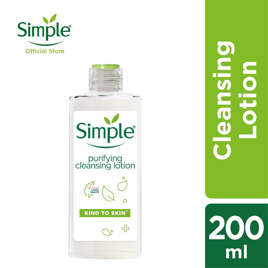 Simple Purifying Cleansing Lotion (200ml)