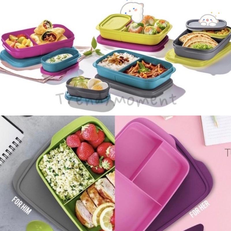 💛READYSTOCK💛 Tupperware Foodie Buddy Set / Jollitup set / Lunchbox set