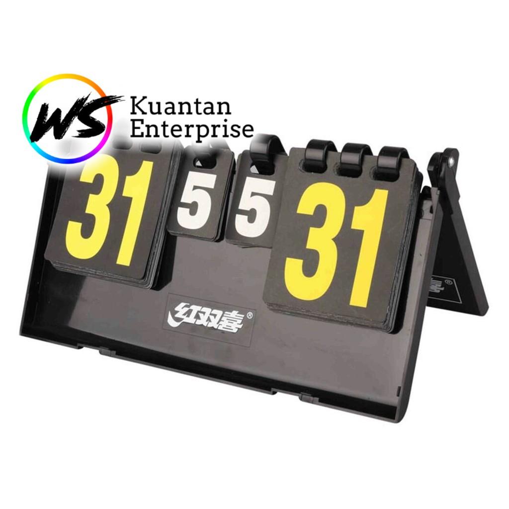 【100% Ready Stock】Portable Table Top Flipping Scoreboard (4 Digit/ 6 Digit)