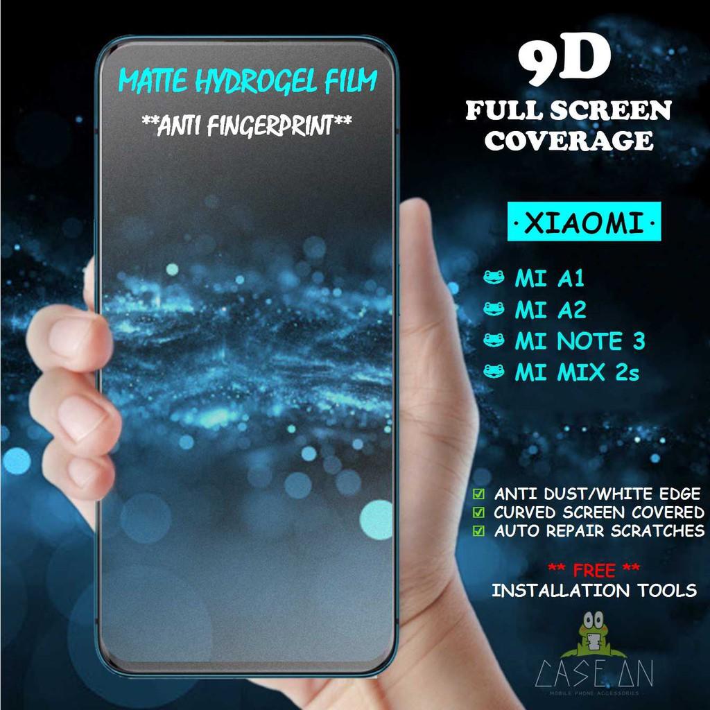 Xiaomi Mi A1 / Mi A2 / Mi Note 3 / Mi Mix 2s / MiA1 / MiA2 / MiNote3 /  MiMix2s Matte Hydrogel Soft Screen Protector Film
