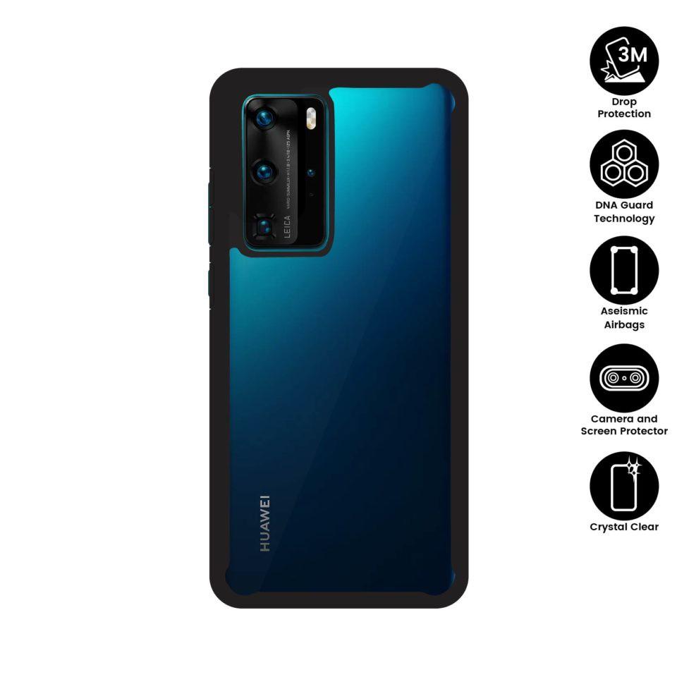 X.One® DropGuard 2.0+ Impact Protection Case Huawei P40, P40 Pro Xone