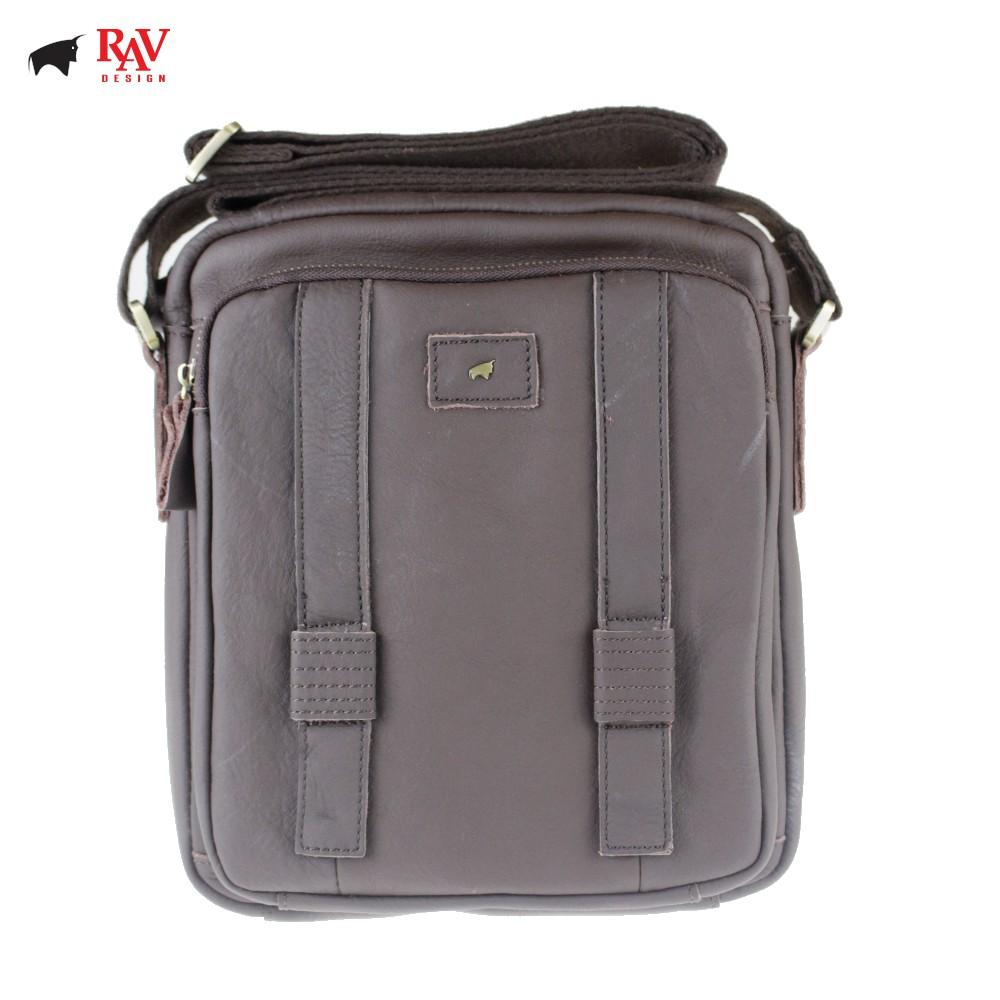 RAV DESIGN 100% Genuine Cow Leather Cross Body Sling Bag Brown |YRC037 Series