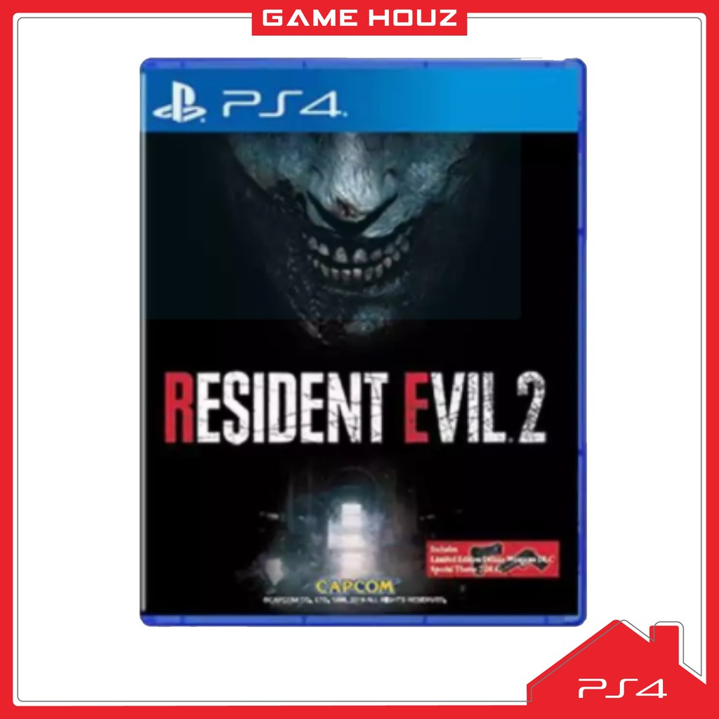 (PS4) Resident Evil 2 Remake (R3/ENG/CHN) - NEW
