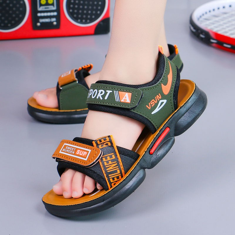 Kids Sandals Boys Sport Sandals Child Casual Beach Sandals Children''s sandals  boys 2020 summer new beach shoes in the big students children anti-slip    Shopee Malaysia
