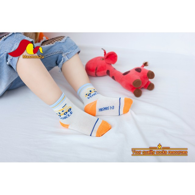 6 PAIRS CHILDREN SOCKS 1 - 3 YEARS OLD