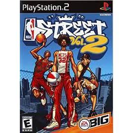 PS2  NBA Street VOL.2 / NBA Street V3 / NBA Street [Burning Disk]