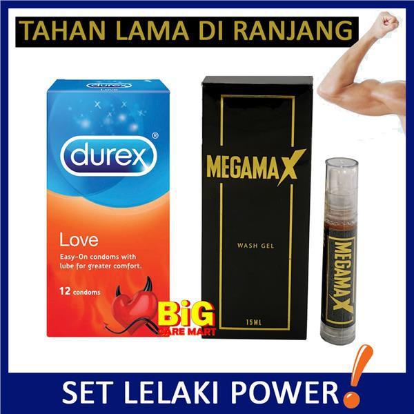 Durex Love Condoms 12s + Megamax Men Gel 15ml