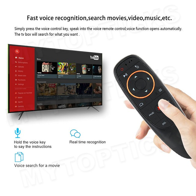 H96 Max+ Plus 🔥READY🔥 4G/64G HD Netflix 4K Youtube Android 8 1 USB3 0 TV  Box