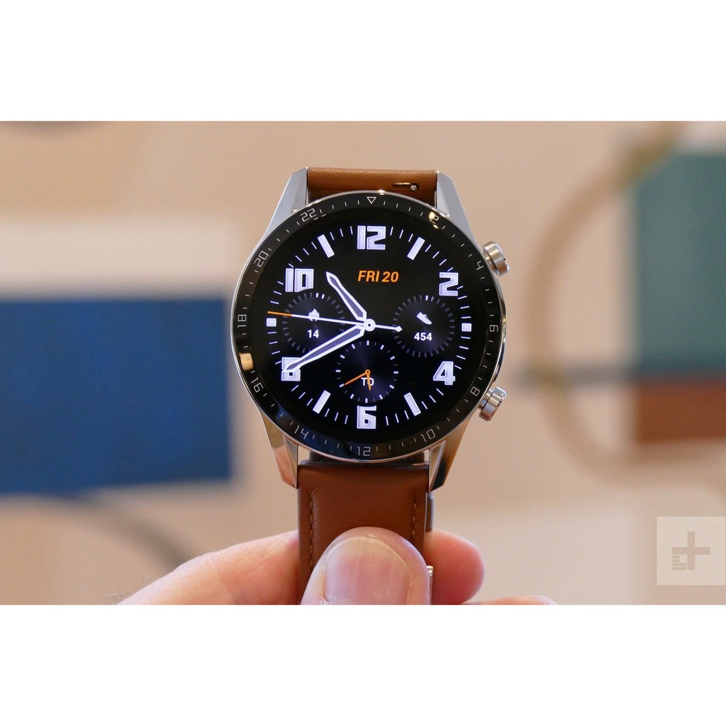 HUAWEI WATCH GT2 46MM CLASSIC EDITION(PEBBLE BROWN LEATHER STRAP)