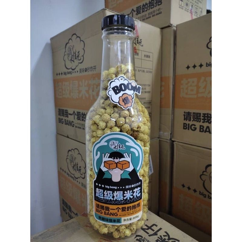 【Ready Stock】全马首创新品超级爆米花 Super Boom Popcorn 808g