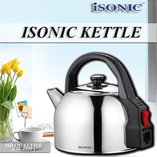 ISONIC KETTLE IJK-4800