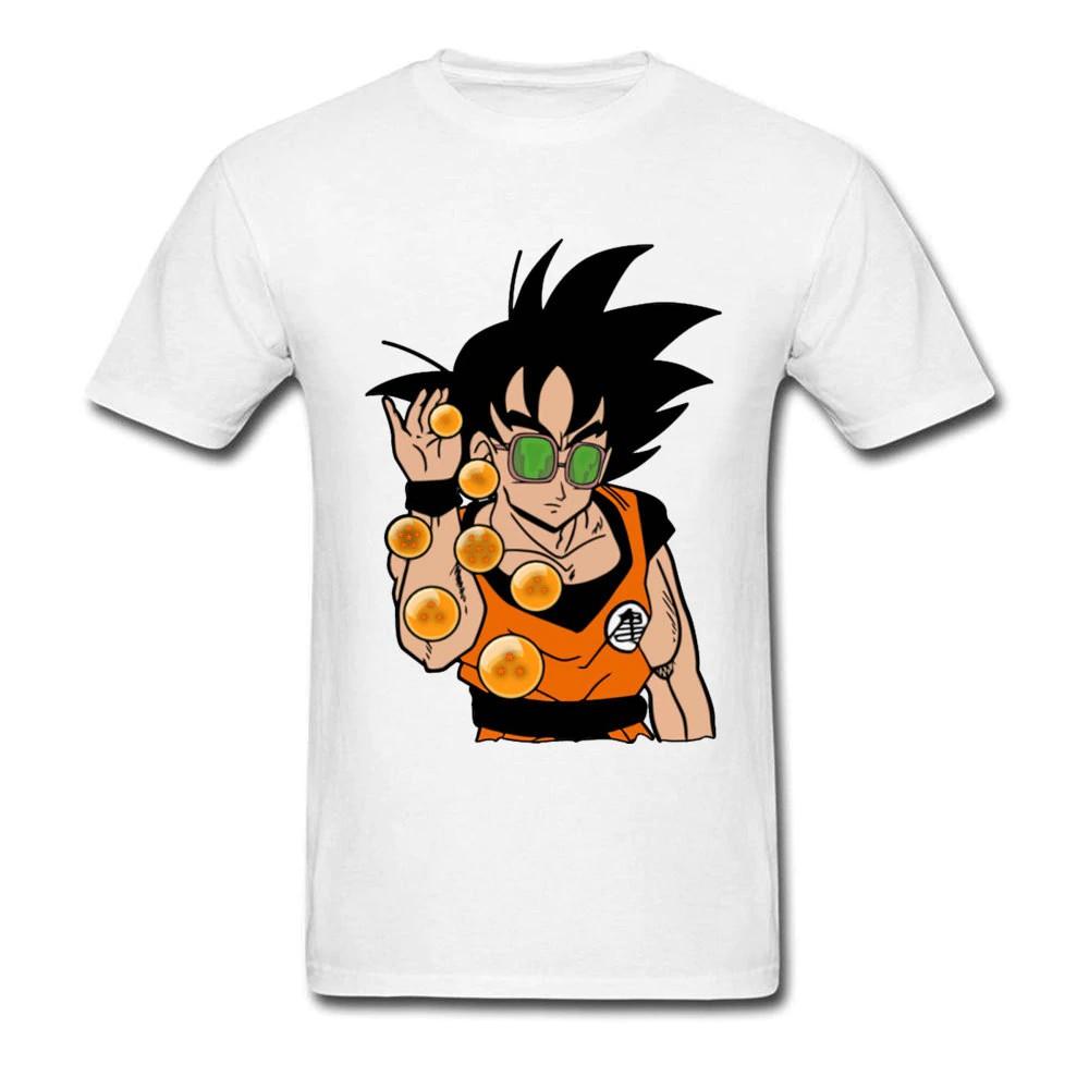 Goku /& Z Stamp Men/'s Black T-Shirt Dragon Ball Z
