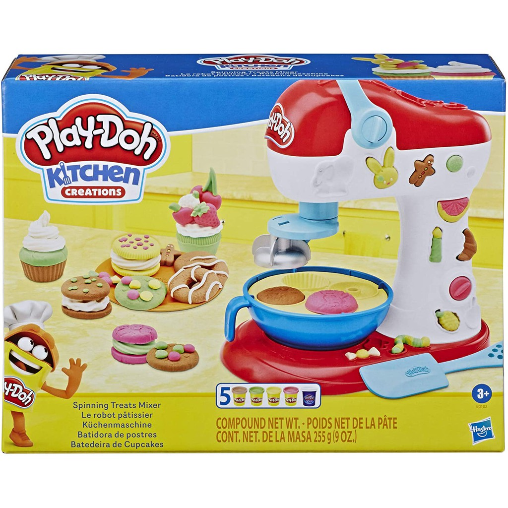 Play-Doh Kitchen Creations Spinning Treats Mixer Toy Playset