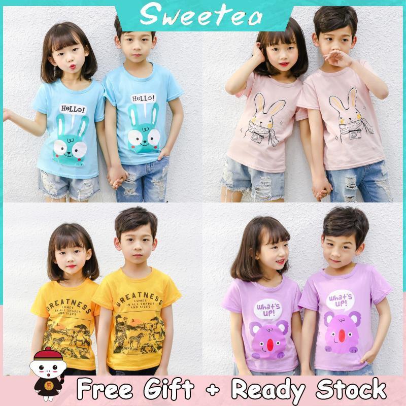 bc31dc30df3af Baby Kids Summer Short Sleeve Cotton New Style T-shirt Children Boy Clothing