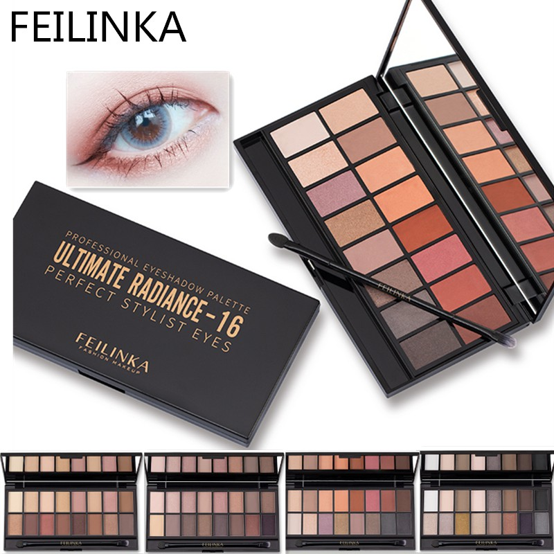 Eye Shadow Beauty Glazed Eyeshadow Natural Plate Shimmer Palette Make Up Professional Mini Shadow Kit 9 Color Makeup Cosmetics Eyeshadow Hot Sale 50-70% OFF