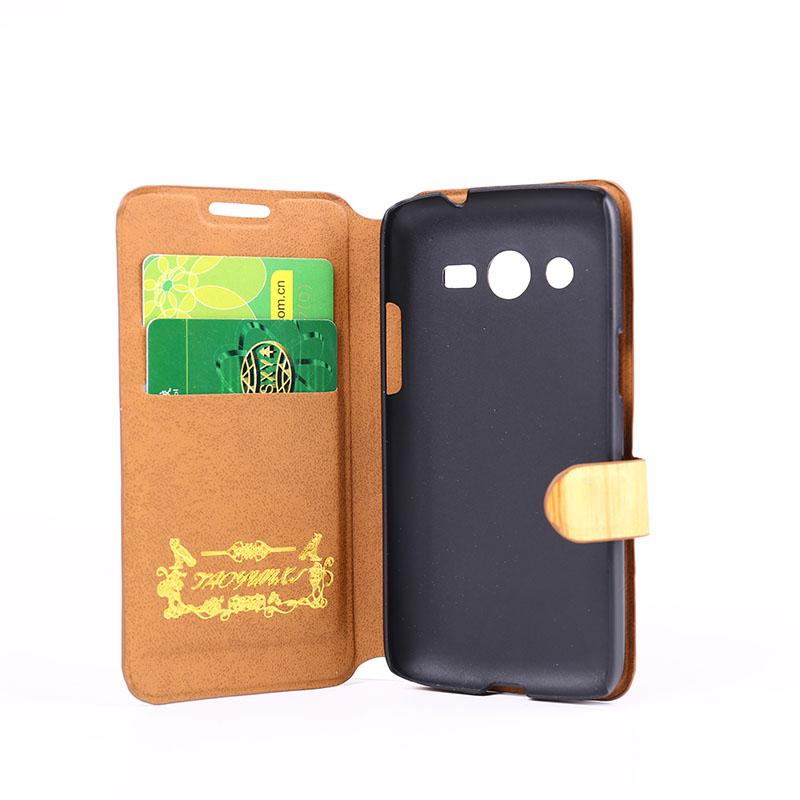 differently 79c90 6b700 Luxury Flip case wallet leather Case For Samsung Galaxy Core LTE ...