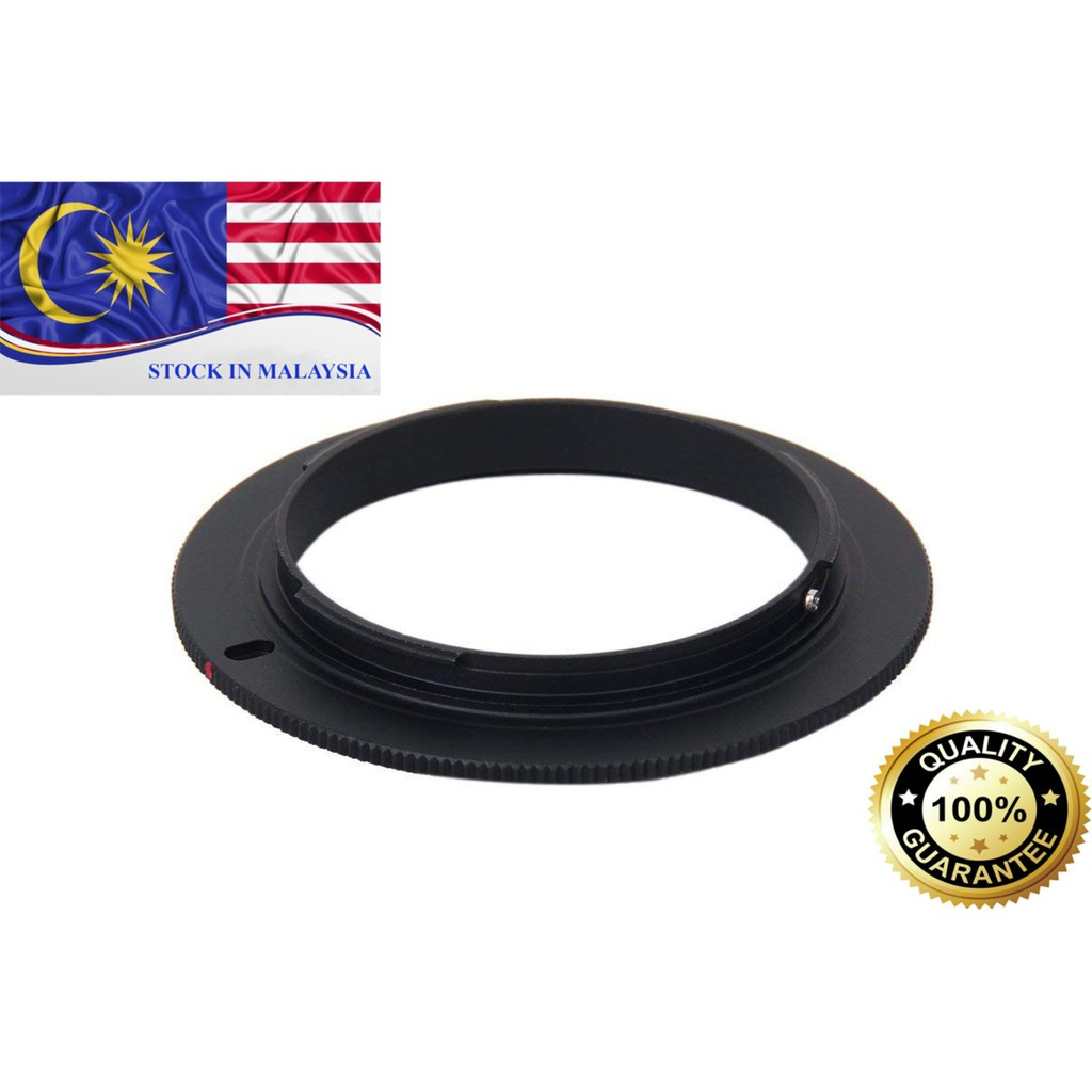 55mm Macro Reverse Adapter Ring For Sony DSLR (Ready Stock In Malaysia)