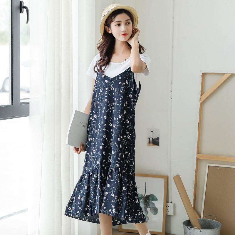 c8471492cf ?2019? New Korean style floral off shoulder slim bodycon chiffon dress