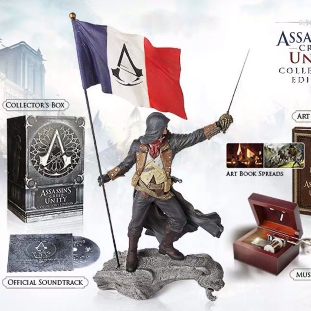 Assassin Creed Unity Original Figure No Box Shopee Malaysia