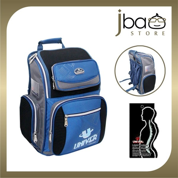 Univer School Bag Student Ergonomic Lightweight Backpack (Blue) Primary Popular Light