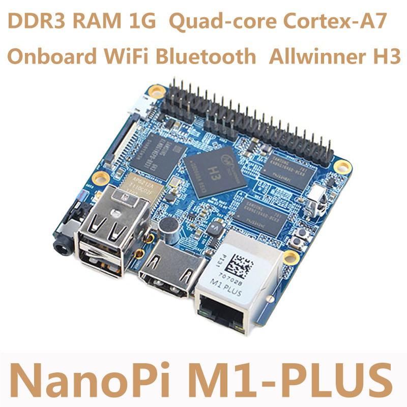NanoPi M1 Plus Development Board Allwinner H3 4K 4-core Compatible  Raspberry Pi