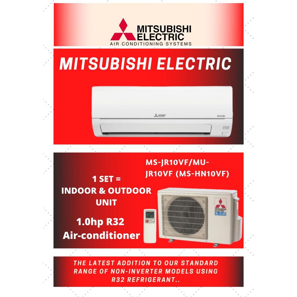 Mitsubishi Electric MS-JR10VF/MU-JR10VF (MS-HN10VF) 1.0hp R32 Air-conditioner