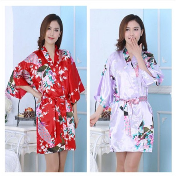 989dc75f1d Men Women Cotton Waffle Bath Robe Suck Sweat Kimono Bathrobe Summer  Nightgowns