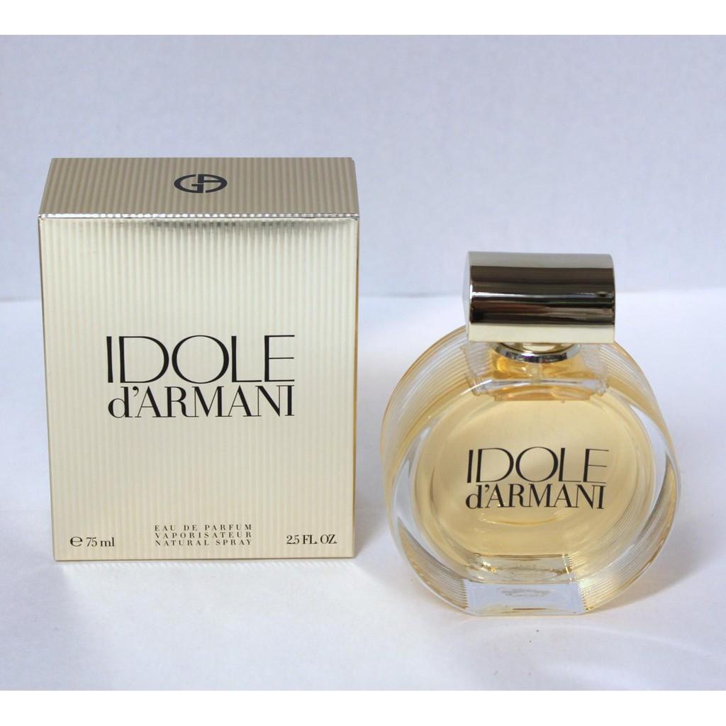 sehr bekannt lässige Schuhe Brandneu Giorgio Armani Idole d'Armani Eau de Parfum For Women 75ml
