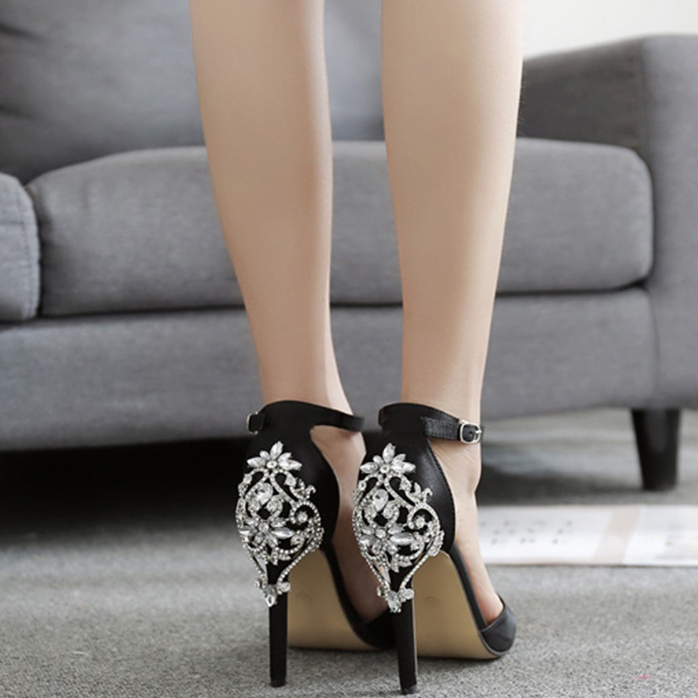 a255ae7b422 Elegant Noble Women High Heels Shoes Work Shoes Perfect Office Shoes Plus  Size