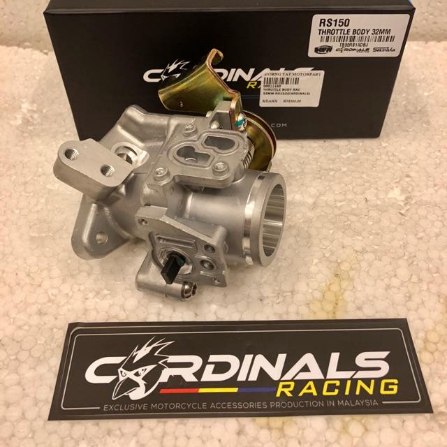 Throttle Body Jenama Cardinals For Honda RS150