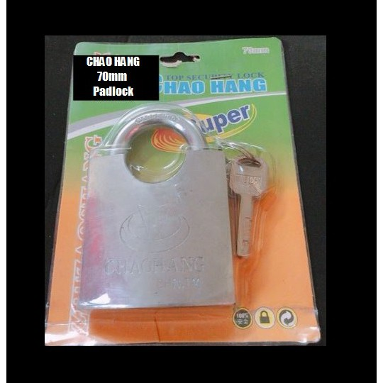 CHAOHANG Full Beam Arc Type Heavy Duty Brass Padlock Premium Quality Anti Rust Padlock 50MM