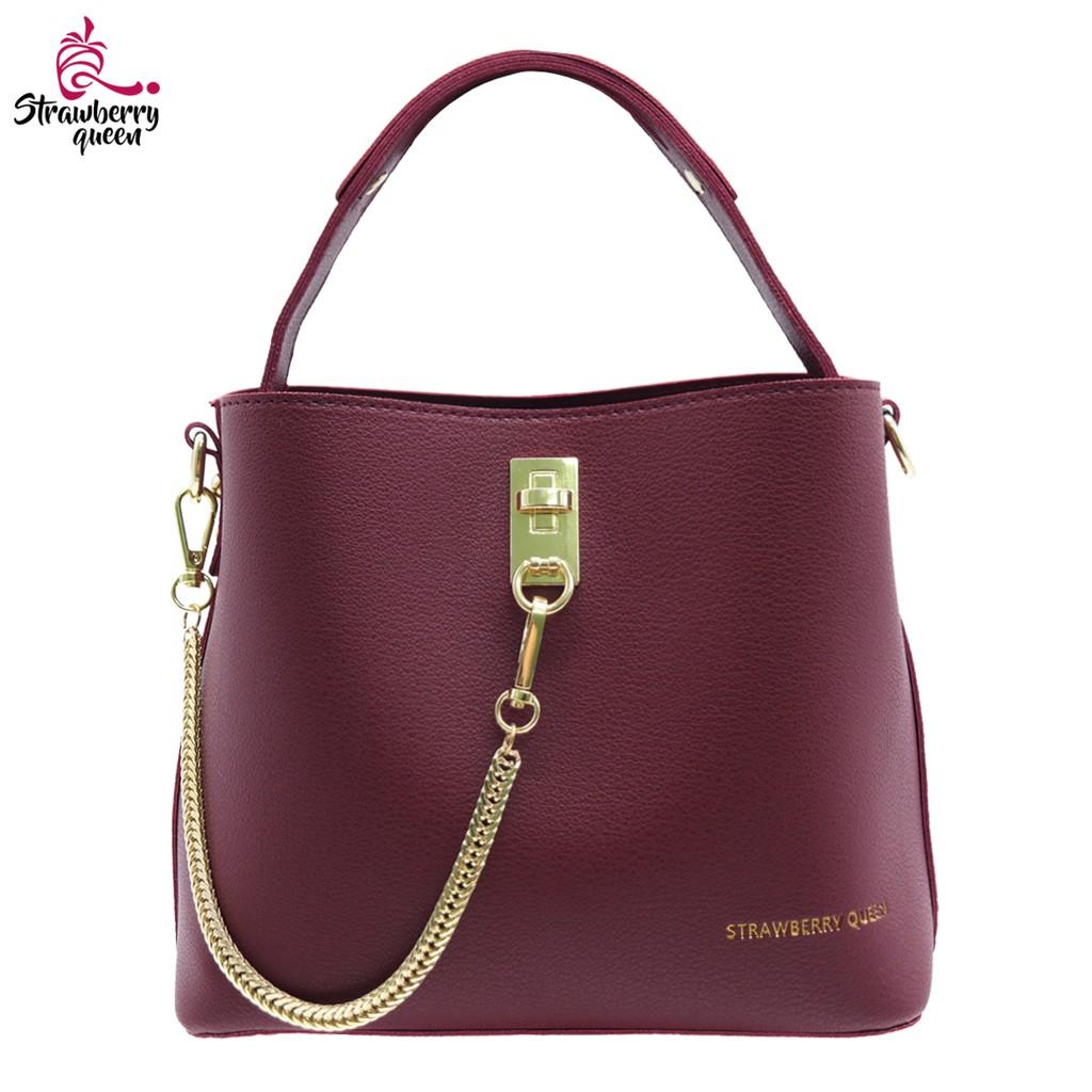Strawberry Queen Petite Crossbody Bag - CHAIN LOCKER