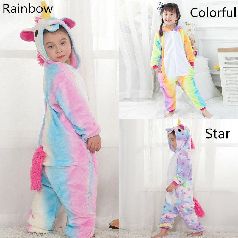 99a008740 Kids Owl Animal Onesie Cosplay Pajamas Costume Children Flannel ...