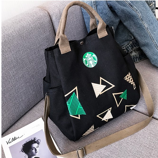 Women\'s Handbag Korean Style Canvas Sling Bag