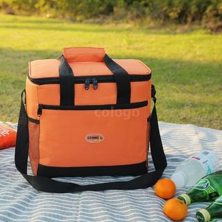 13d06eaa8e90 Lixada 16L Outdoor Insulated Bag Cooler Lunch Tote Thermal Bento Bag ...