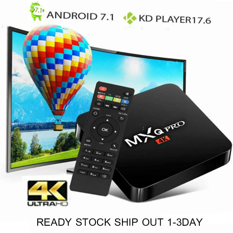 PREINSTALLED 10000+CHANNELS)MXQ PRO 4K ANDROID TVBOX Latest