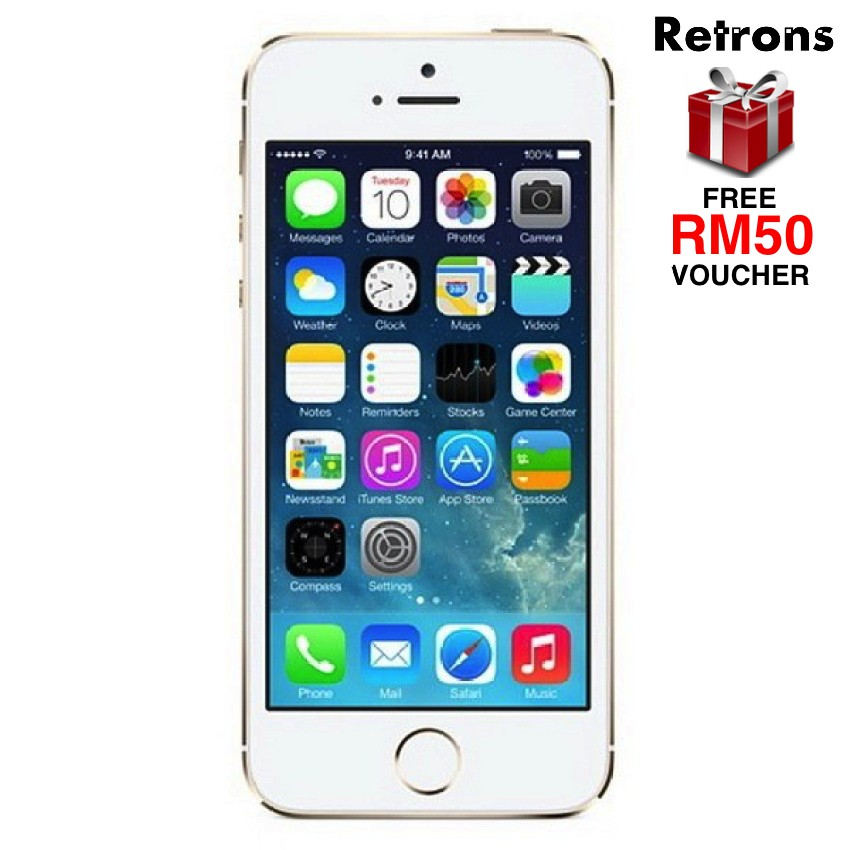 (DISPLAY UNIT) Apple iPhone 5S 32GB (CLEARANCE with ONE WEEK WARRANTY)