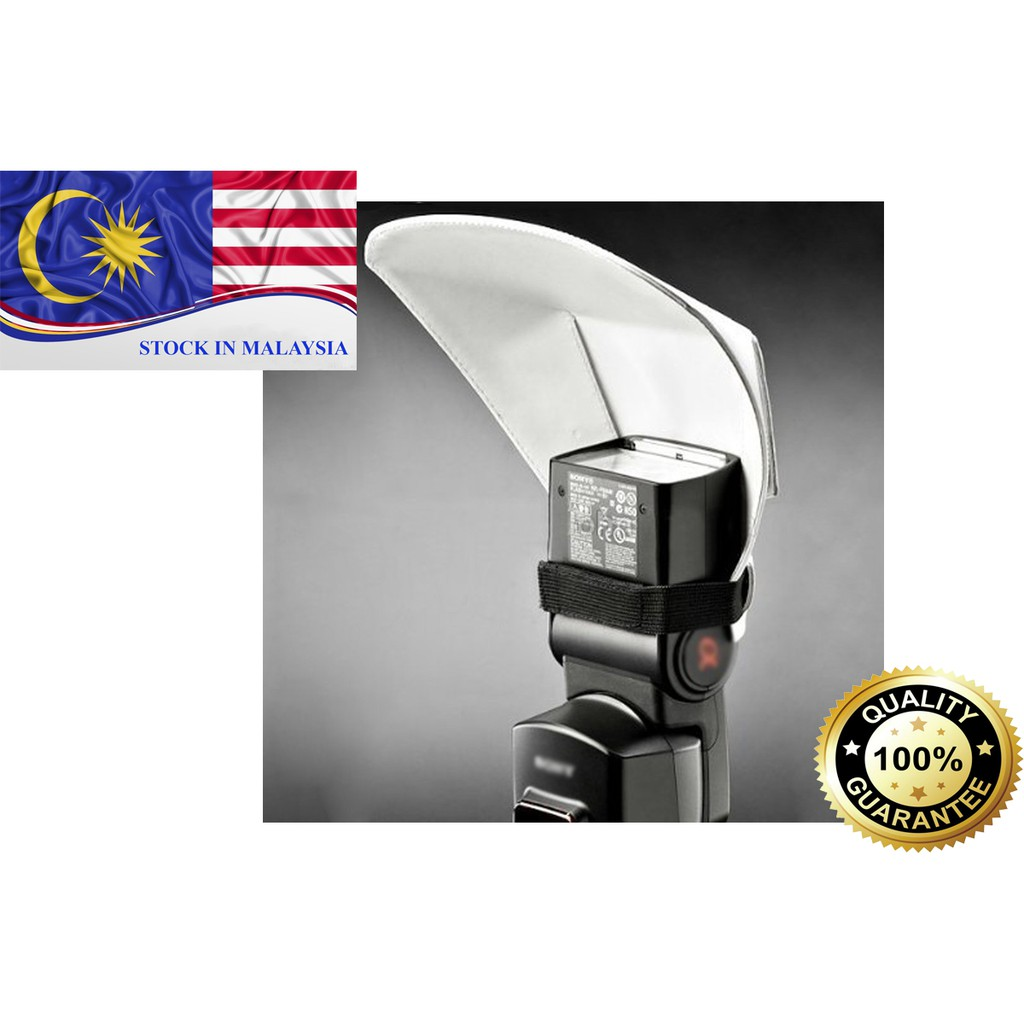Flash Bounce Reflector Diffuser (Ready Stock In Malaysia)