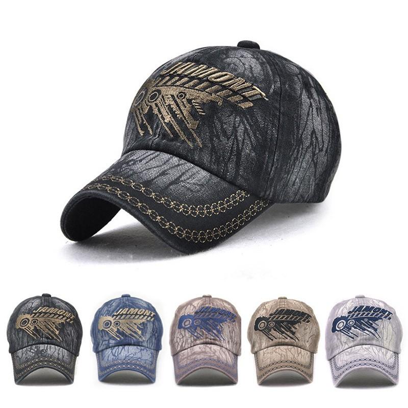 0db0958e556 Women Men Denim Baseball Cap Adjustable Blank Snapback Trucker Hat ...