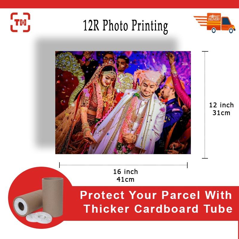12RW(12X16) High Quality Photo Printing (Glossy/Matt)/Digital photo printing