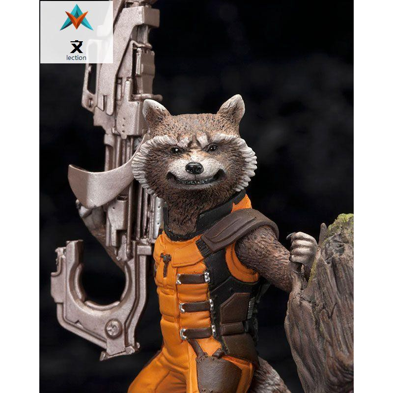 ALEN Guardians of the Galaxy Tree Man /& Rocket Raccoon PVC Action Figure 14cm