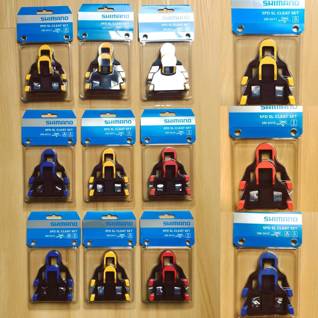 a54c43556 Shimano spd sl cleat set sm-sh10   sm-sh11   sm-sh12 (Road   Track   Fixie)