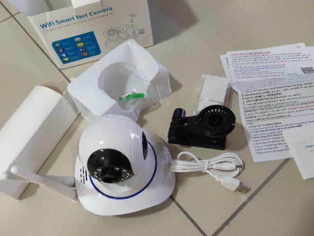 GOQ Q9 Dual Antenna IP Security Camera Cam 720P HD Wifi CCTV