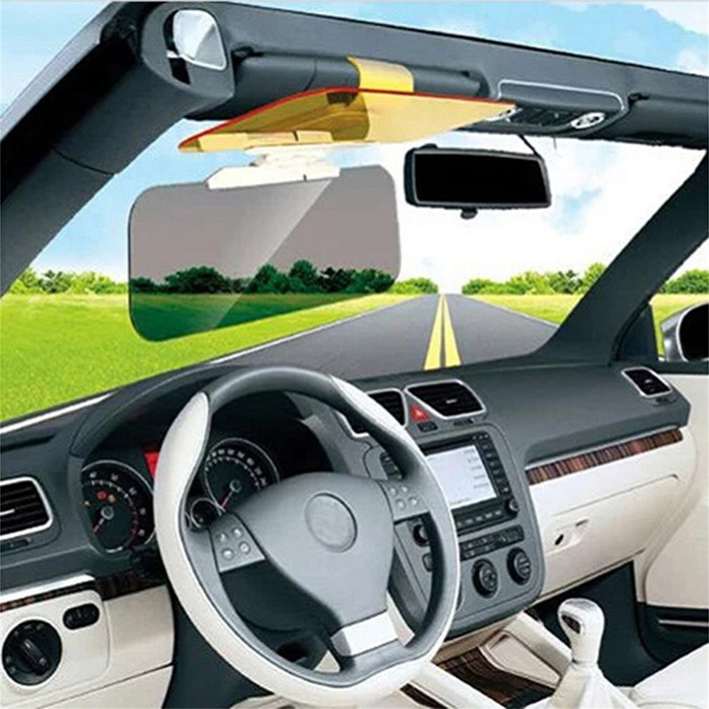 FMD Car Sunshade Day Night Sun Visor Anti-glare Clip-on Driving Vehicle  Shield  12addc4689d
