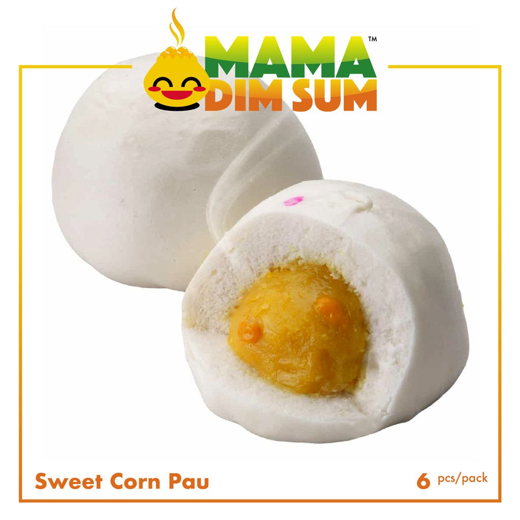 (P11) Sweet Corn Pau (6pcs/pack)