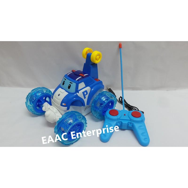 Big Robocar Poli RC Remote Control Stunt Car 40MHz