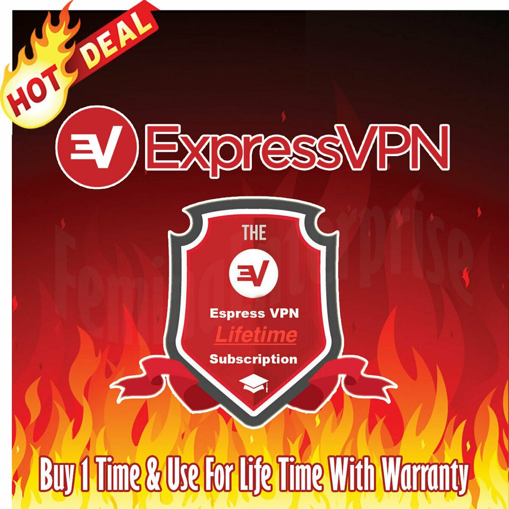EXPRESS VPN LIFETIME FOR IOS/ANDROID/PC/MAC | 🚫NOT SHARED